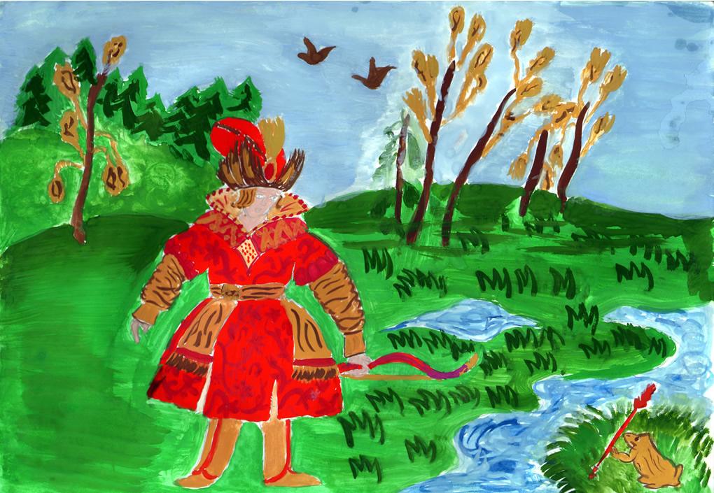Бабушке, детские сказки картинки рисовать